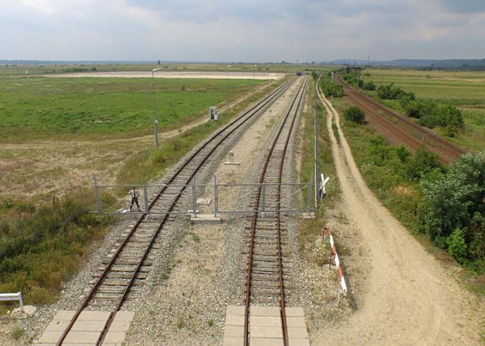Proiect cai ferate platforma depozitare