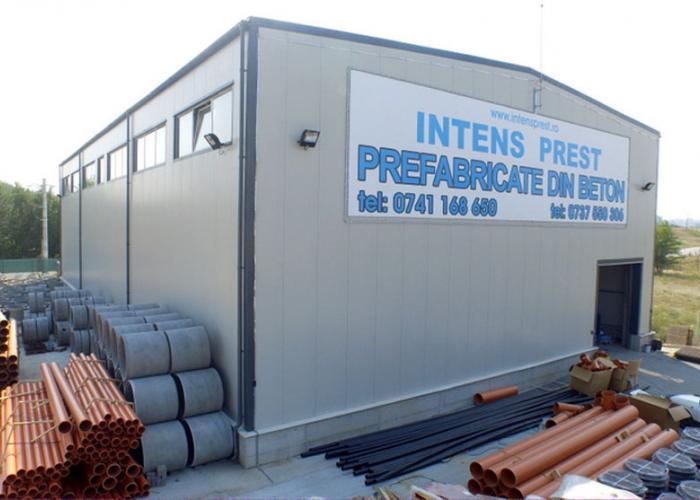 Hala prefabricate din beton